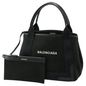 Balenciaga Navy Cabas S – Black