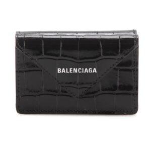 Balenciaga Papier Mini Wallet – Black