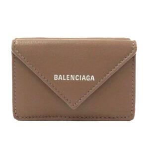 Balenciaga Papier Mini Wallet – Grey