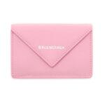 Balenciaga Papier Mini Wallet – Pink