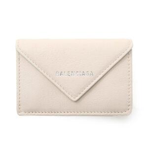 Balenciaga Papier Mini Wallet – Beige