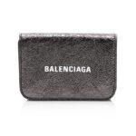 Balenciaga Cash Mini Wallet – Black