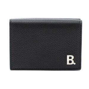 Balenciaga B Mini Wallet – Black