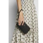 Coach Kira Crossbody bag grained cow leather – Black