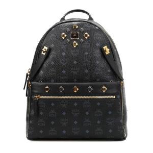 MCM Medium Dual Stark leather backpack – Black