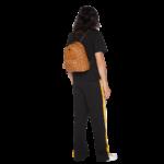 MCM Stark Backpack in Visetos – Cognac