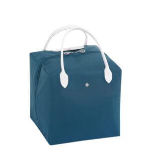 Longchamp x NENDO Cube 中手提包 (藍/白色)