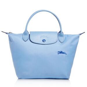 Longchamp Club 短柄 細手提袋 藍色 (P38)
