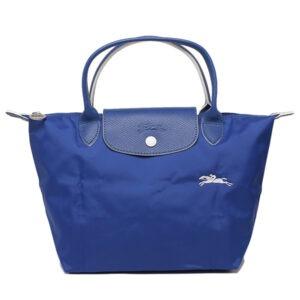 Longchamp Club 短柄 細手提袋 鈷藍色 (P24)