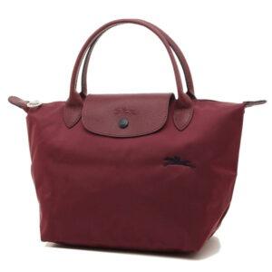 Longchamp Club 短柄 細手提袋 石榴紅 (C87)