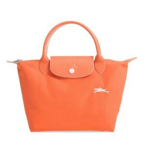 Longchamp Club 短柄 細手提袋 橙色 (P34)