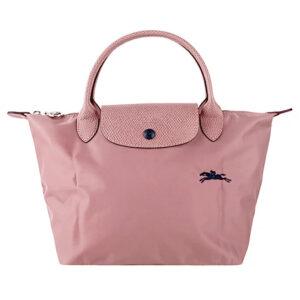 Longchamp Club 短柄 細手提袋 藕粉色 (P44)