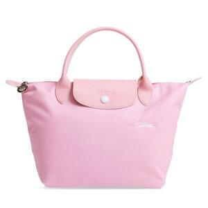 Longchamp Club 短柄 細手提袋 粉紅色 (P36)
