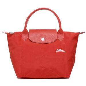 Longchamp Club 短柄 細手提袋 朱紅色 (P20)
