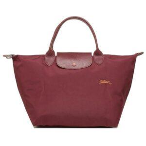 Longchamp Club 短柄 中手提袋 紅色 (209)