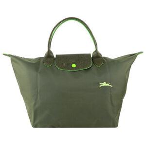 Longchamp Club 短柄 中手提袋 綠色 (549)