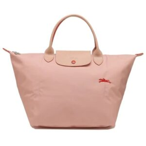 Longchamp Club 短柄 中手提袋 玫瑰色 (A26)
