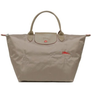 Longchamp Club 短柄 中手提袋 棕色 (P18)