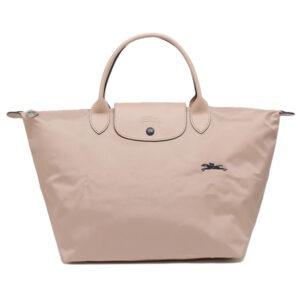 Longchamp Club 短柄 中手提袋  山楂白 (566)
