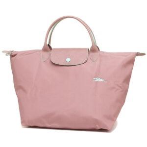 Longchamp Club 短柄 中手提袋 粉紅 (P13)