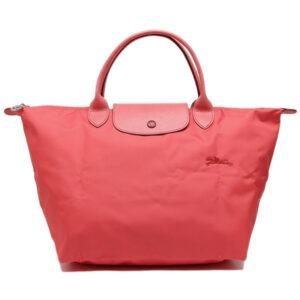 Longchamp Club 短柄 中手提袋 石榴色 (P35)