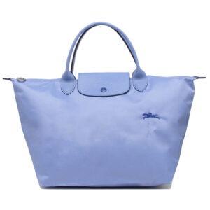 Longchamp Club 短柄 中手提袋 藍色 (P38)