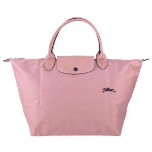 Longchamp Club 短柄 中手提袋 藕粉色 (P44)