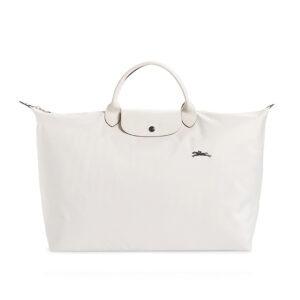 Longchamp Club 短柄 大旅行包 粉白色 (337)