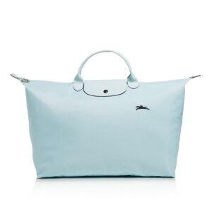 Longchamp Club 短柄 大旅行包 雲藍色 (P32)