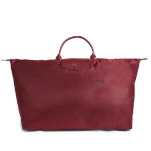 Longchamp Club 短柄 特大旅行包 石榴紅 (C87)