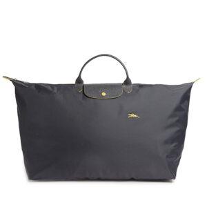 Longchamp Club 短柄 特大旅行包 鐵灰色 (300)