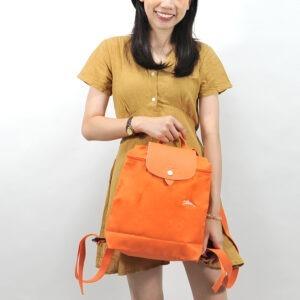 Longchamp Club 經典背包 橙色 (P34)