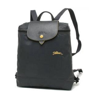 Longchamp Club 經典背包 鐵灰色 (300)