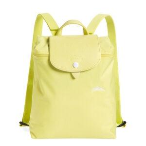 Longchamp Club 經典背包 黃色 (P33)