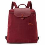Longchamp Club 經典背包 酒紅色 (209)