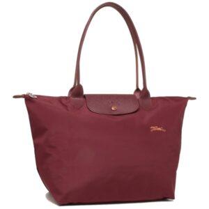 Longchamp Club 長柄 大購物包 紅色 (209)