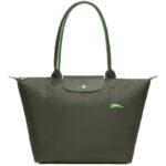Longchamp Club 長柄 大購物包 綠色 (549)
