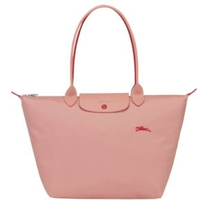 Longchamp Club 長柄 大購物包 玫瑰色 (A26)