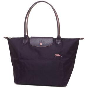 Longchamp Club 長柄 大購物包 紫色 (645)