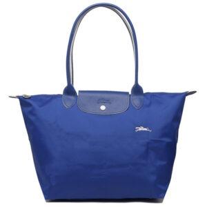 Longchamp Club 長柄 大購物包 鈷藍色 (P24)