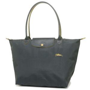 Longchamp Club 長柄 大購物包 鐵灰色 (300)