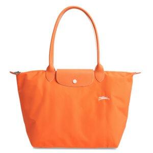 Longchamp Club 長柄 大購物包 橙色 (P34)