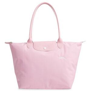 Longchamp Club 長柄 大購物包 粉紅色 (P36)