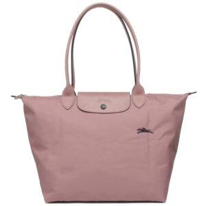 Longchamp Club 長柄 大購物包 藕粉色 (P44)