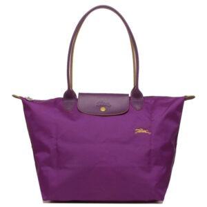 Longchamp Club 長柄 大購物包 紫羅蘭色 (P21)