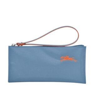 Longchamp Club 手拿包 粉藍 (564)