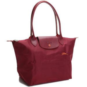 Longchamp Club 長柄 細購物包 紅色 (209)