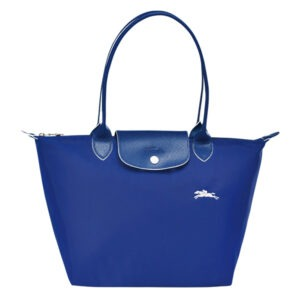 Longchamp Club 長柄 細購物包 鈷藍色 (P24)