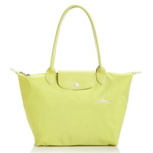 Longchamp Club 長柄 細購物包 黃色 (P33)