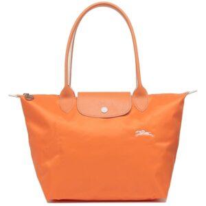 Longchamp Club 長柄 細購物包 橙色 (P34)